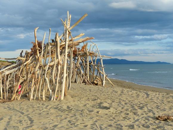 Camping Maremma Tuscany beach