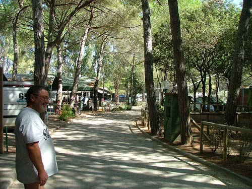 Campsites in Italy: Italian campsites in Maremma in Tuscany and Lazio