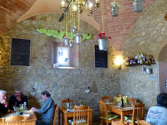 Cana Roccalbegna ristorante