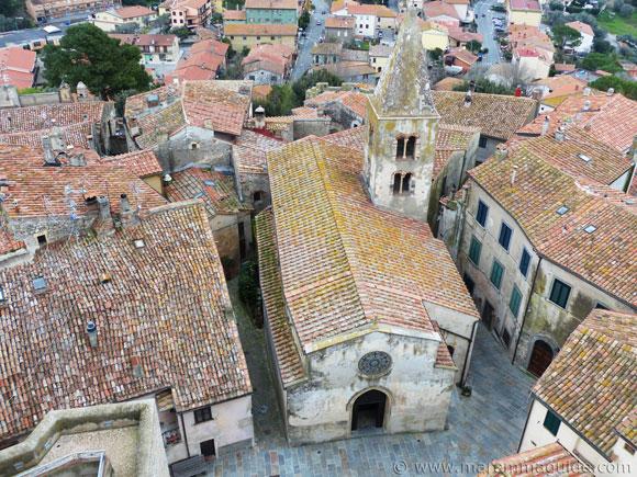Chiesa di San Nicola Capalbio Italy.