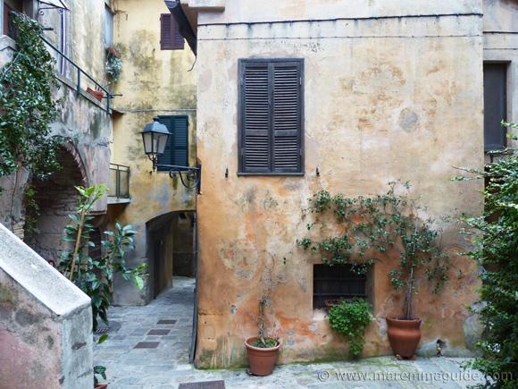 Capalbio Tuscany houses.