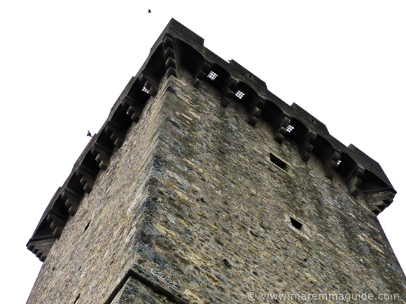 The Torrione - tower - of Capalbio's castle the Rocca di Aldobrandesca.