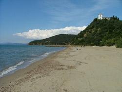 Capanna Civinini beach, Castiglione della Pescaia, Maremma Italy