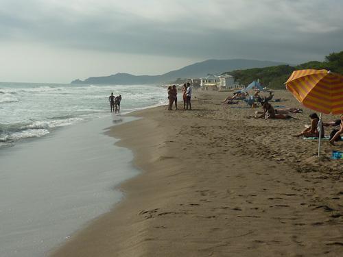 Capezzolo beach Castiglione della Pescaia Maremma Tuscany Italy