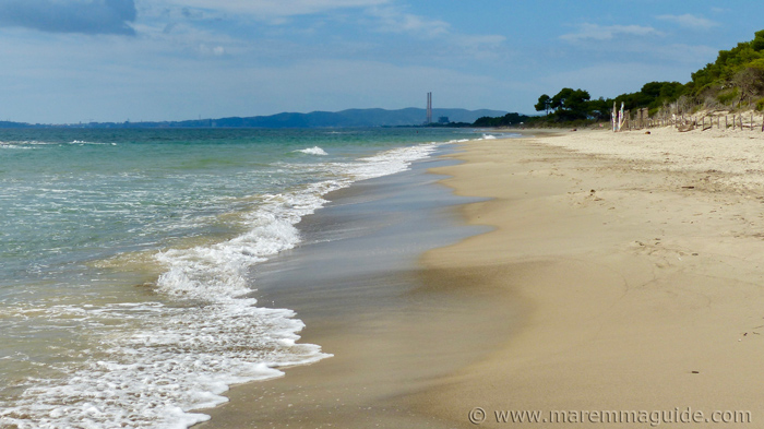 Spiaggia di Carbonifera Maremma.