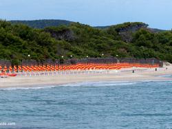 Carbonifera beach Maremma Tuscany