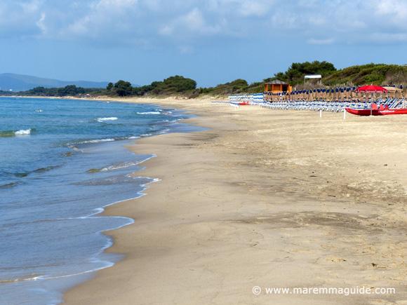 Carbonifera Piombino beach Tuscany