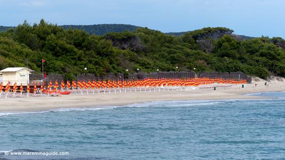 Carbonifera spiaggia Golfo di Follonica