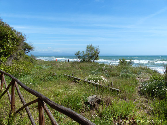 Carlappiano beach Tuscany Maremma