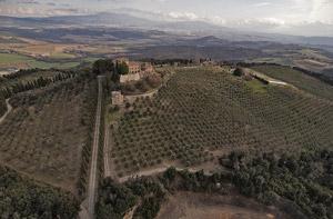 Counts of Ardengheschi Casenovole castle, Civitella Paganico, Maremma