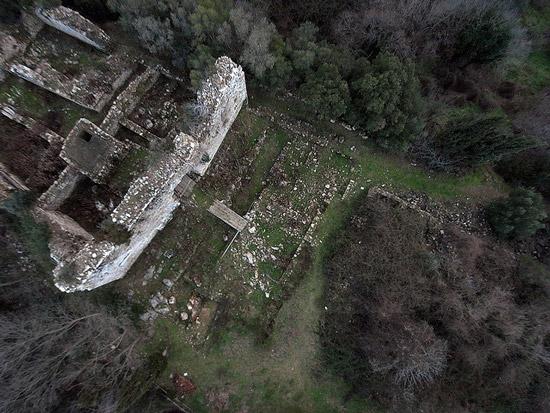 Castel di Pietra medieval castle Maremma Toscana