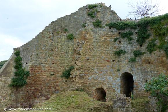 La Rocca Buriano Castiglione della Pescaia Maremma Tuscany