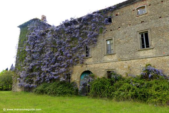 Castello di Lustignano Maremma Tuscany castle for sale
