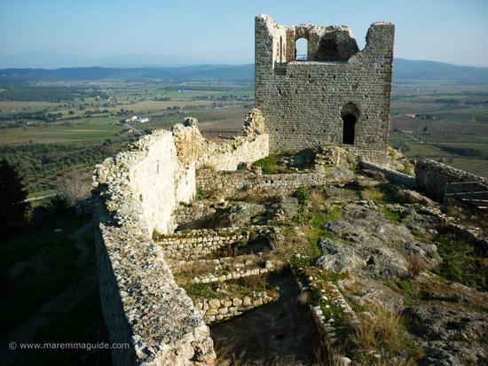 Castello di Montemassi Maremma Tuscany