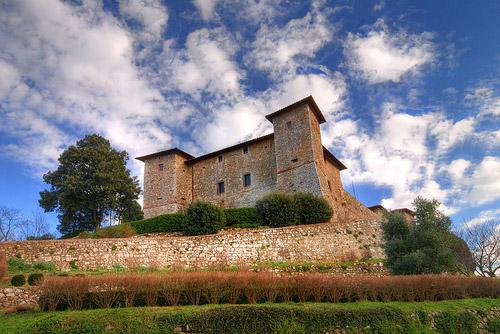 Medieval Castles: Castello di Montepo, Maremma, Italy