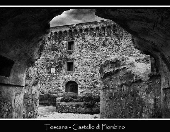 Castello di Piombino Tuscany Italy