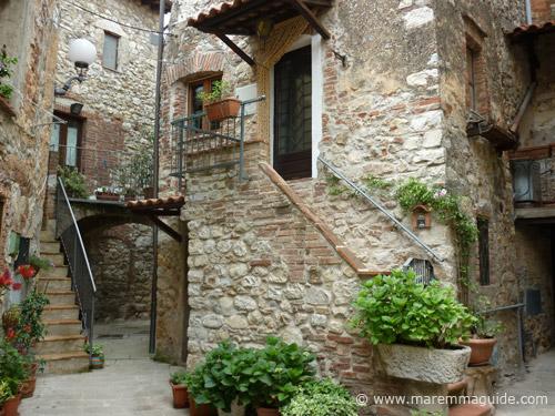 Castello di Ravi in Maremma Tuscany Italy