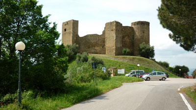 Castello di Scarlino: one of Maremma's castles in the middle ages