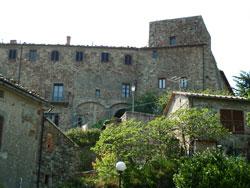 Middle ages castle and keep at Tatti, Massa Marittima Maremma Italy