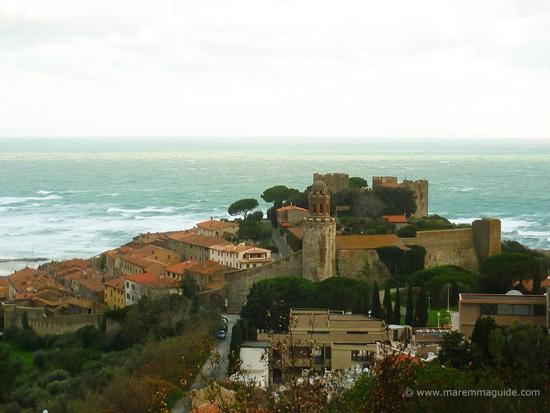Best beach towns in Maremma: Castiglione della Pescaia, Tuscany Italy