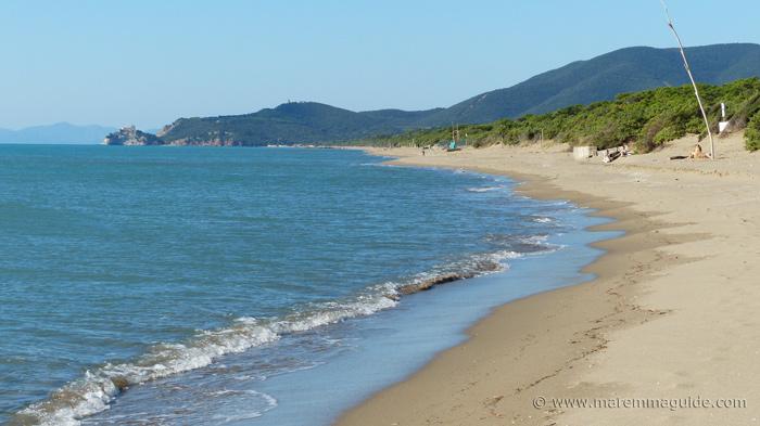 Castiglione della Pescaia beach: Tuscany coast tours on dune buggies.