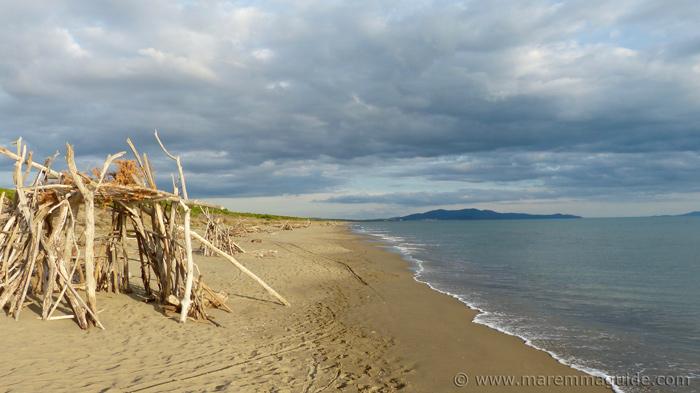 Castiglione della Pescaia beach Maremma Italy