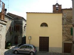 Chiesa di San Sabastiano a Tatti, Maremma Tuscany Italy