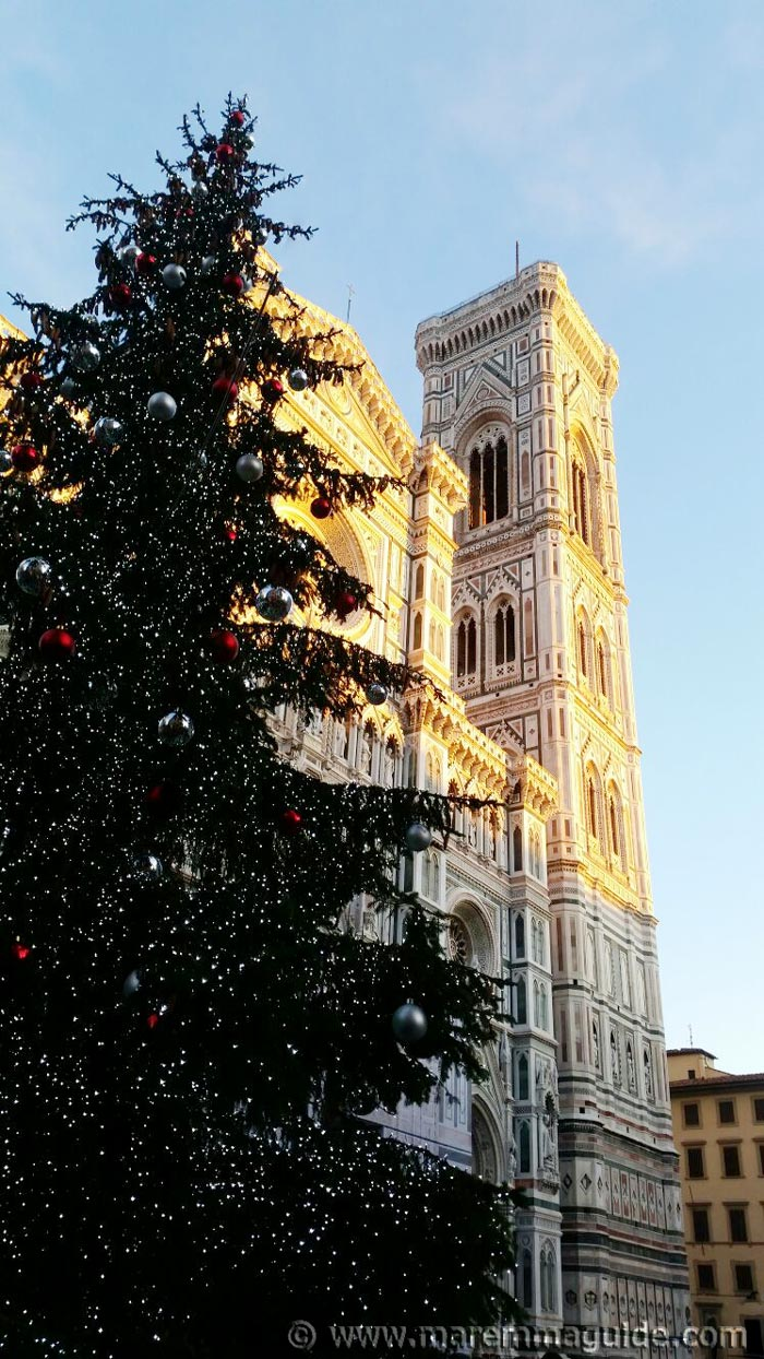 Christmas in Florence Italy.