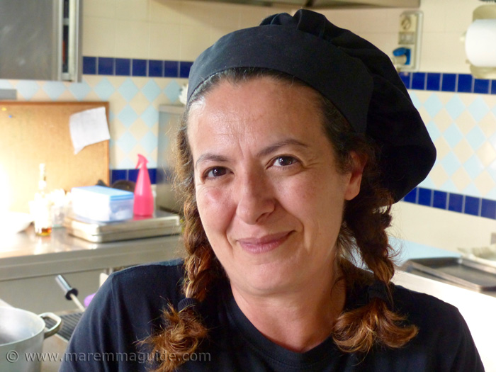 Barbara Cannarsa of La Filanda Michelin Guide and Gamero Rosso restaurant