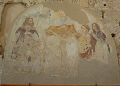 Domenico Maneti The Holy Trinity, Sovana Cathedral Maremma Tuscany Italy