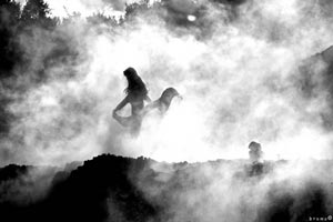 Medieval witch: Elena di Travale in Maremma Italy