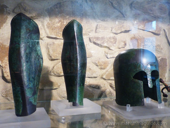 Etruscan armour.
