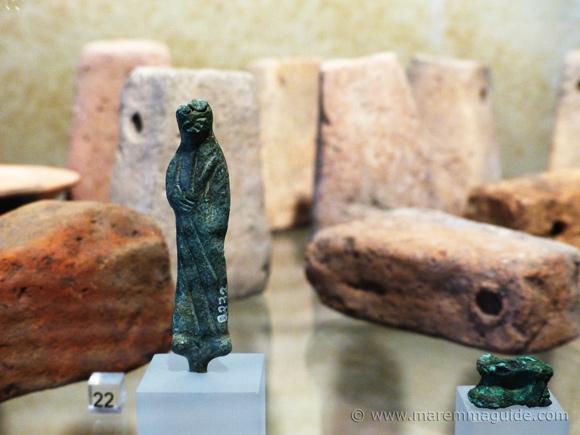 Etruscan bronze sculpture