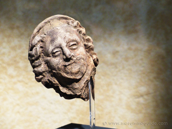 Etruscan face