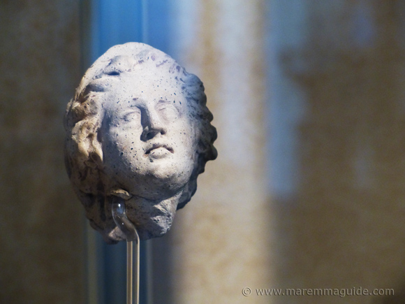 Etruscan female face