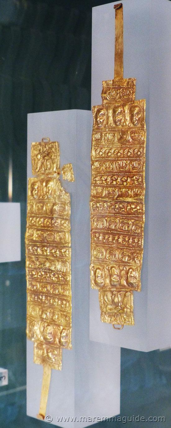 Etruscan gold bracelets