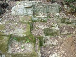 Etruscan quarry at Buca delle Fate, Populonia & Baratti, Maremma Tuscany Italy