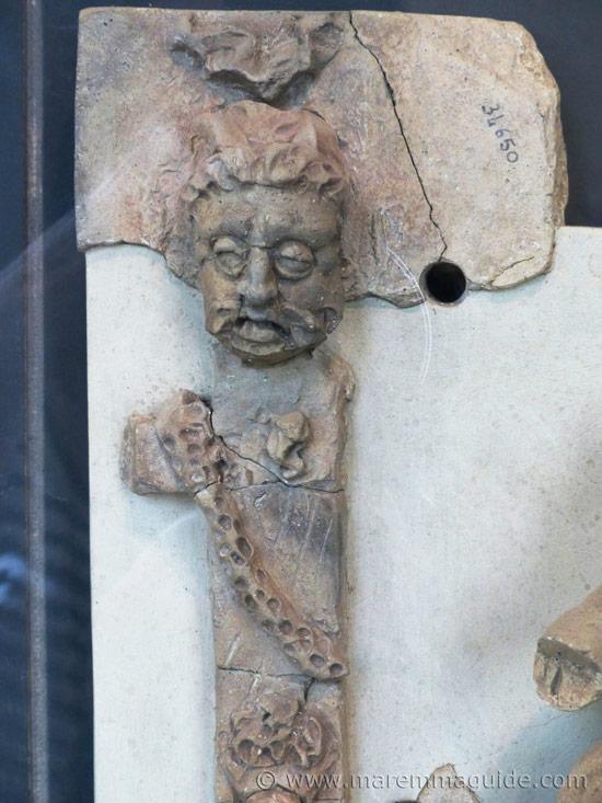 Etruscan terracotta sculptures: the legend of Medea