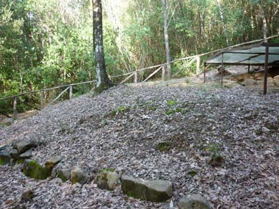 Etruscan tombs in Maremma Italy: two superimposed tombs from the 6th or 7th centuries at Lago dell'Accessa, Maremma