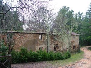 The old Fabbricato dei Vetturini at Montioni, Maremma