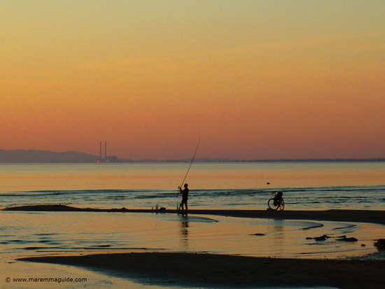 Fishing in Maremma Tuscany