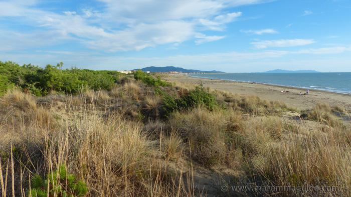 La Fiumara beach: best beaches in Maremma Tuscany.