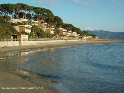 Follonica beach apartments at Pratoraniera