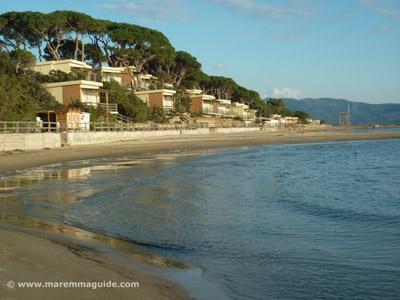 Follonica beach apartments at Pratoraniera