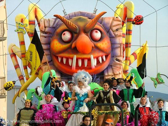 Carnevale di Follonica: Carnivals in Maremma Tuscany
