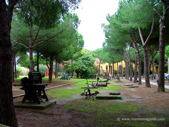 Follonica ironworks museum, Maremma Tuscany