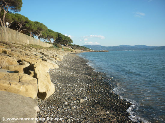 Follonica beaches: Ponente beach