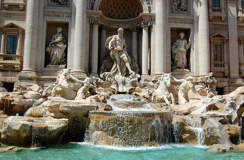 Photos of Rome Italy: the Fontana di Trevi, Roma