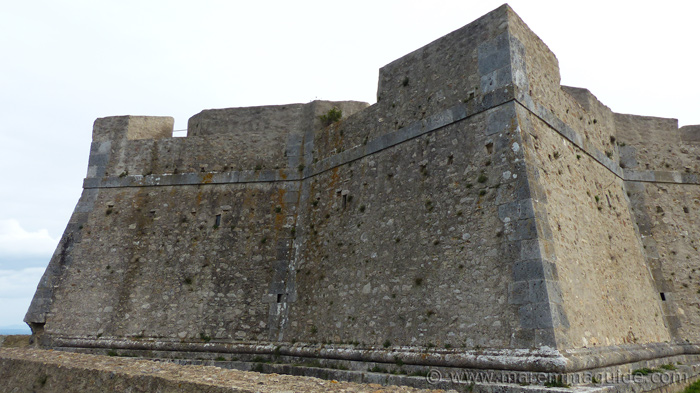 Inner fortress curtain wall.