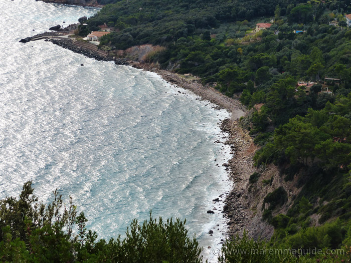 Monte Argentario coast.